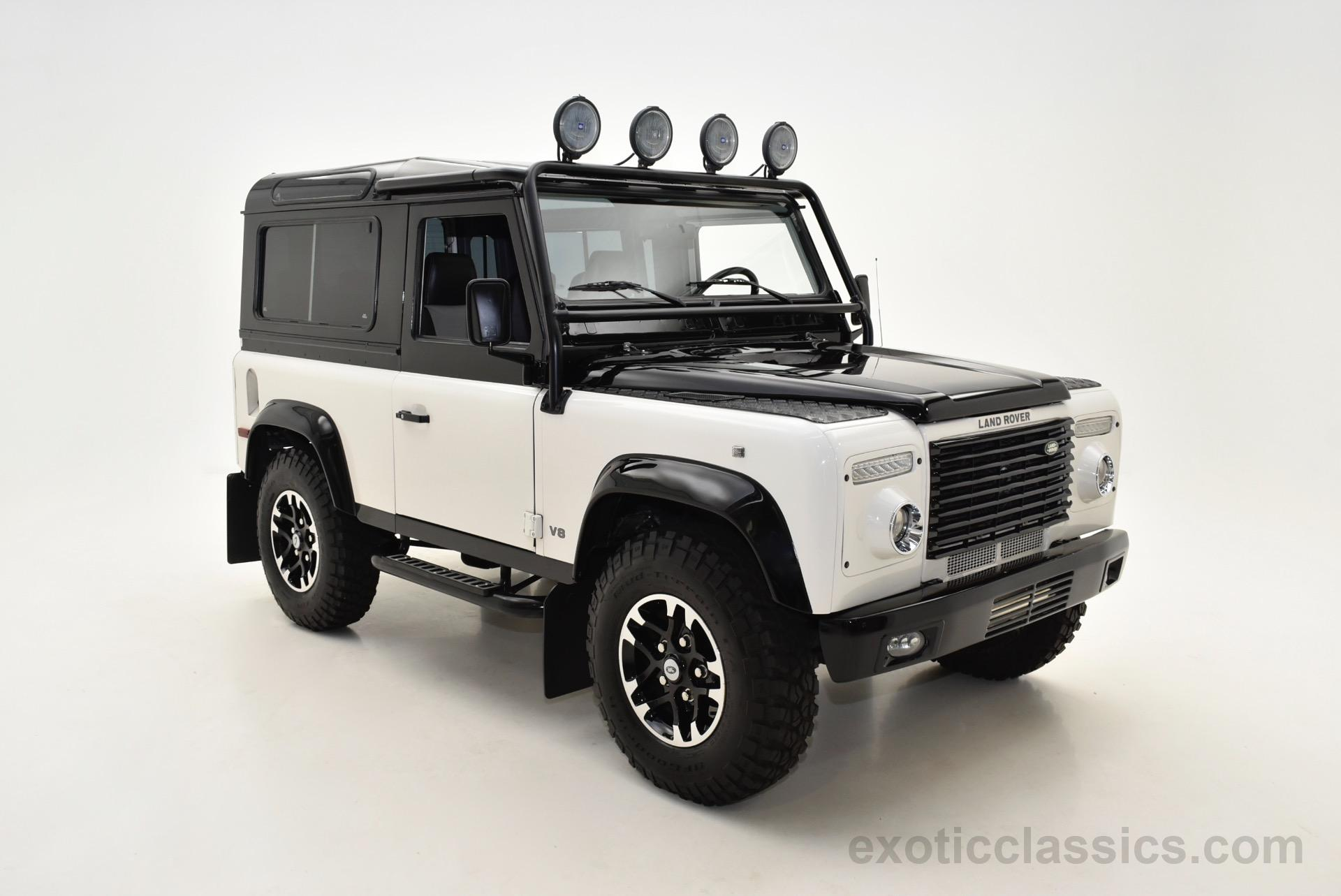 1997 Land Rover Defender 90 Exotic and Classic Car Dealership