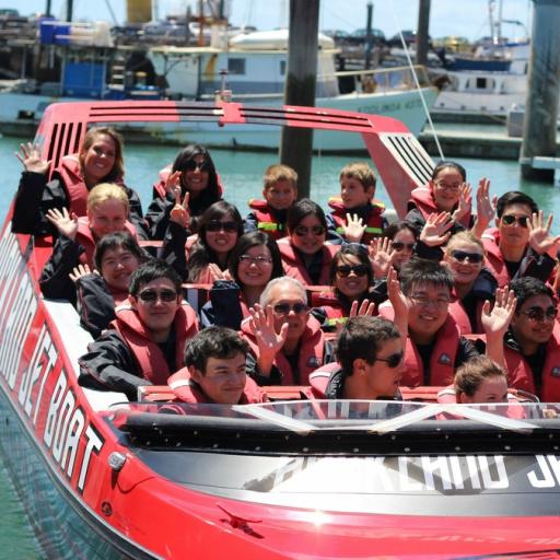 Social Event. Auckland Adventures. Jet Boat