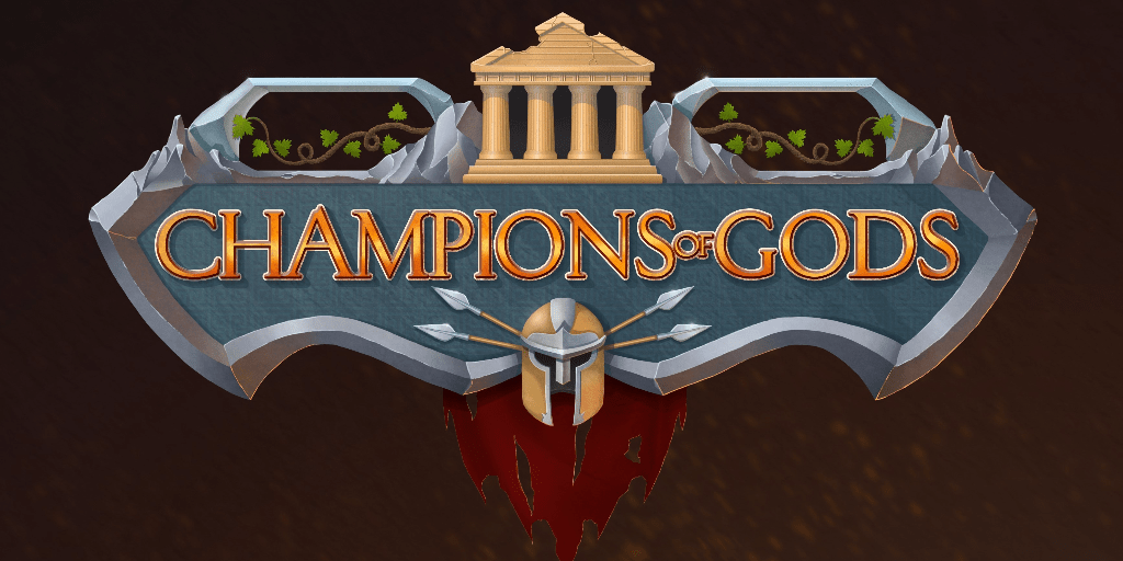 Official Logo of the Champions of Gods game.