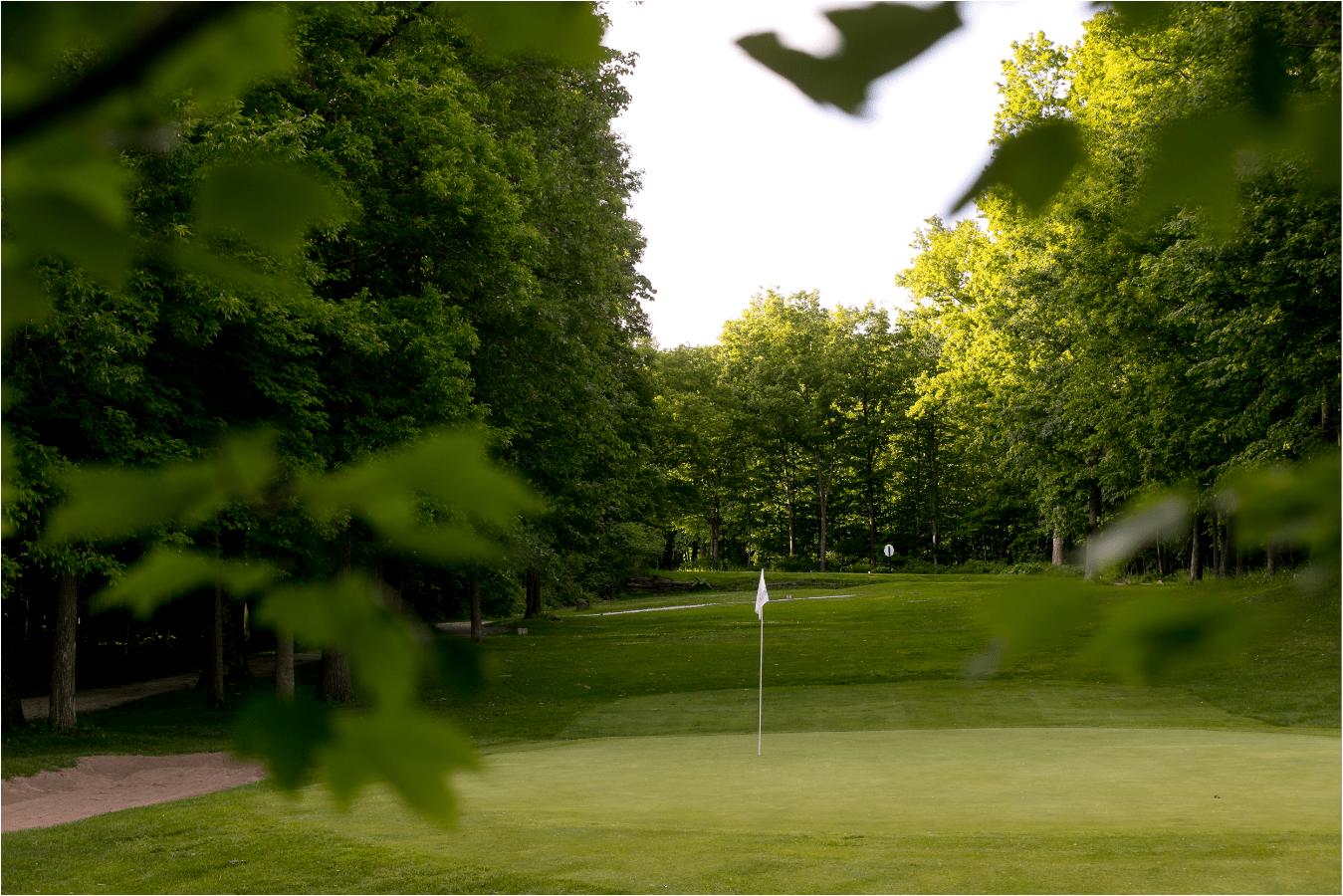 Champlain Country Club Hole #12: Par 3