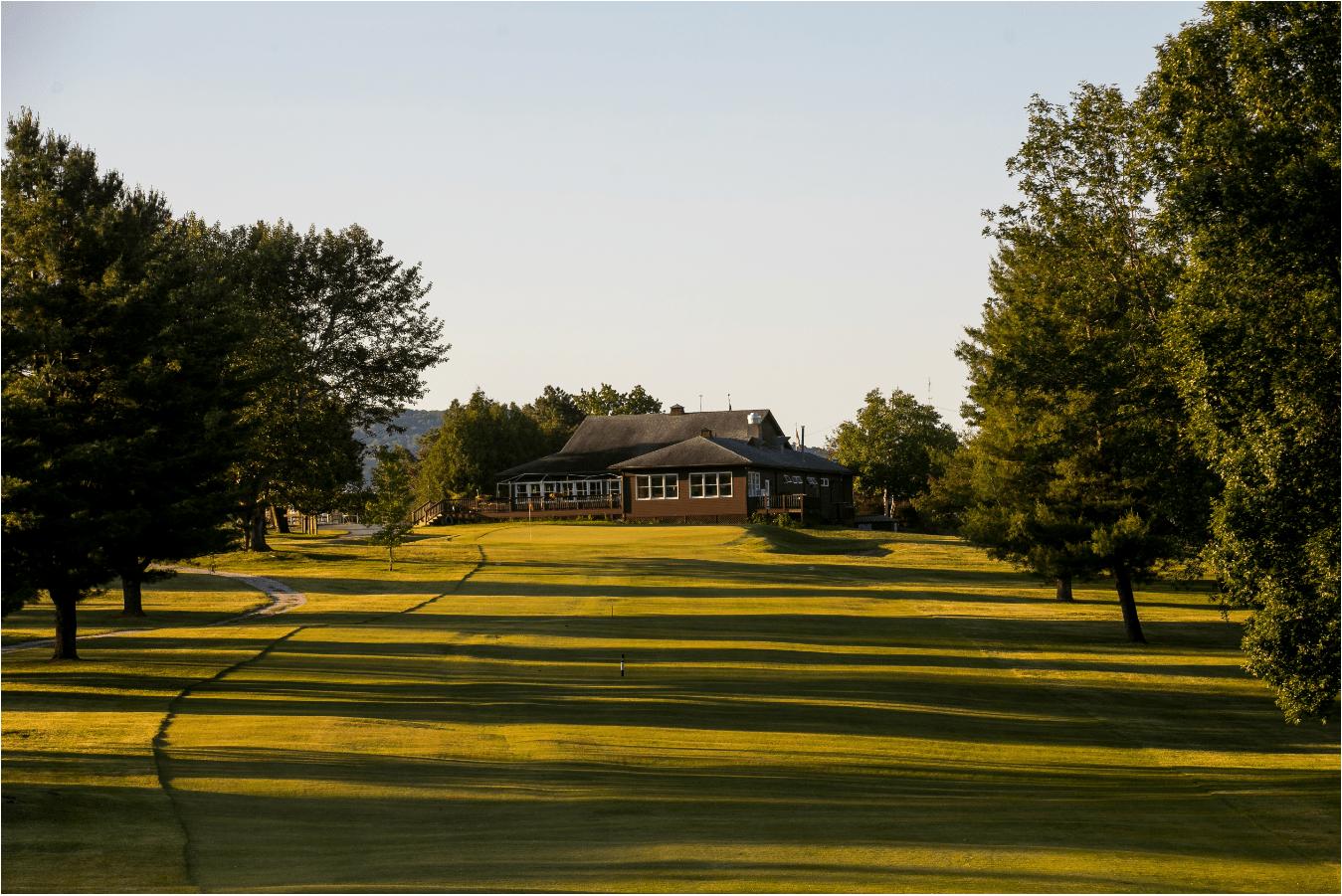 Champlain Country Club Hole #18: Par 4