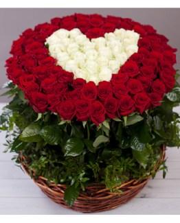 CF Amazing Basket with Heart