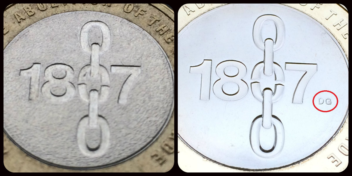 slave trade c2a32 compare - Why you should be collecting £2 coins