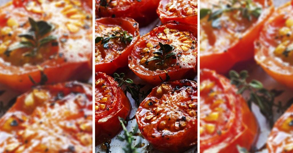 Ντομάτες ψητές με Ιταλικές γεύσεις!