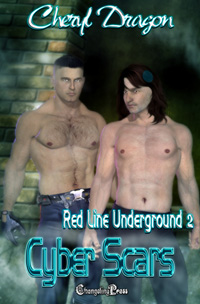 Red Line Underground: Cyber Scars by Cheryl  Dragon