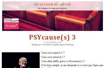 Changement de décor - De la cour au jardin Psy Cause(s) 3