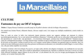 Changement de décor - La Marseillaise Psy Cause(s) 3