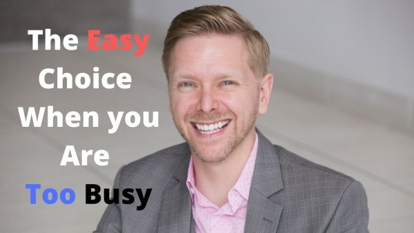 CMLC Blog: The Easy Choice When You Are Too Busy