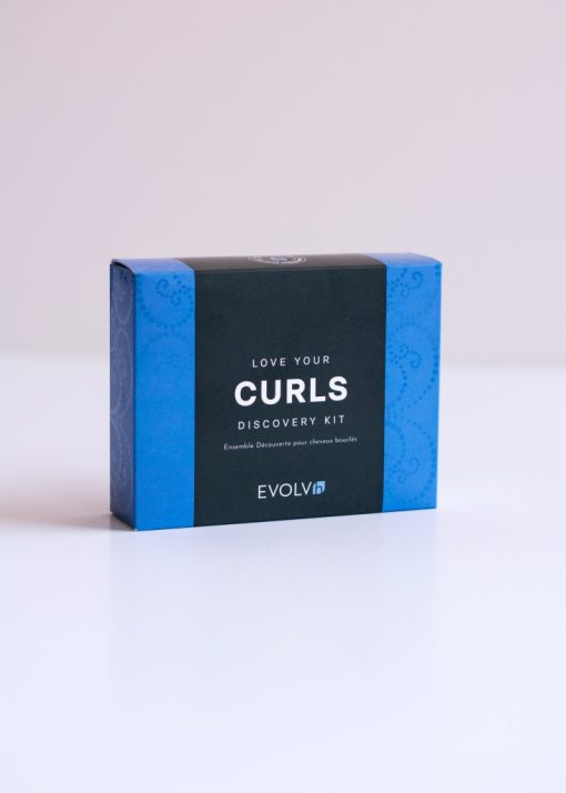 Healthy Curls Trip box from Evolvh haircaare at changes hair salon