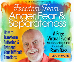 Ram Dass on Finding Meaning in Loss & Emotional Upheaval: FREE from the ShiftNetwork 1 Ram Dass on Finding Meaning in Loss & Emotional Upheaval: FREE from the ShiftNetwork
