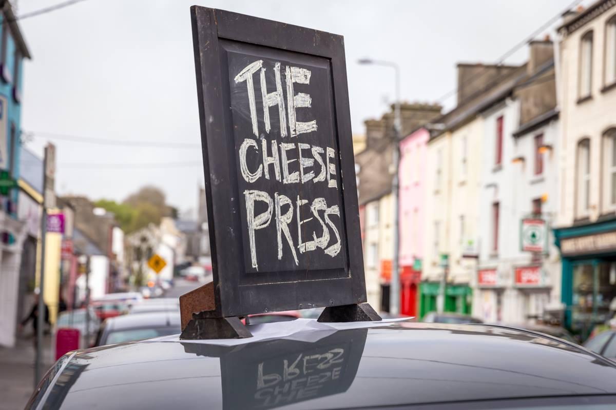The cheese press car