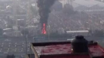 Explosión CFE