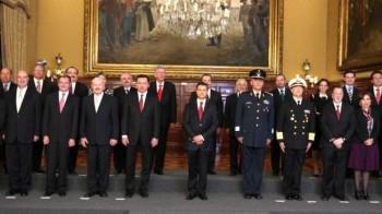 gabinete Peña Nieto