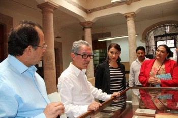 Jara Guerrero biblioteca Congreso