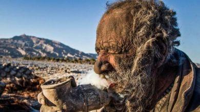 iraní que lleva 60 años sin bañarse2