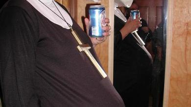 monja embarazada