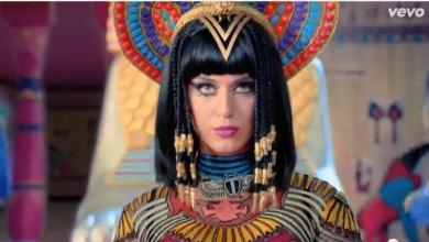katy perry de cleopatra video dark horse