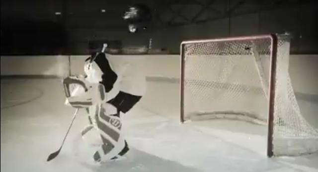 jugador de hockey decapitado
