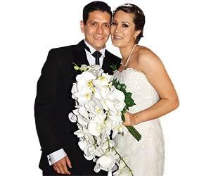 El diputado federal Ernesto Nuñez y su esposa beneficiada con una de las Notarías faustistas / Especial