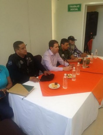 Alfredo Castillo reunión Estanislao Beltrán Papá Pitufo