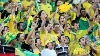 futbol afición Brasil