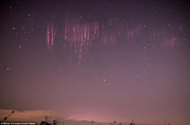 cielo llamado espectro rojo 1