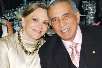 ex senador José Luis Lobato Campos y su esposa Olga Yolanda Burguett
