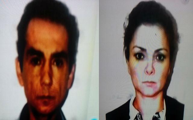 José Luis Abarca y Ángeles Pineda detenidos