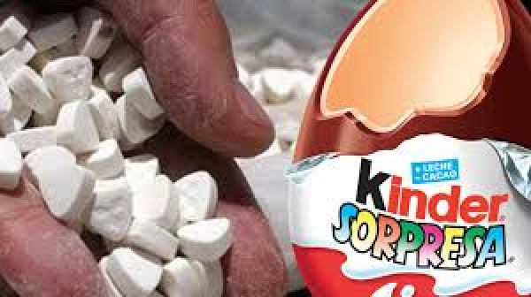 metanfetamina huevo kinder sorpresa