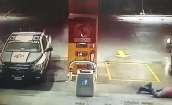 #DeShock Captan Ejecución De Policías En Nuevo León Mientras Cargaban Gas