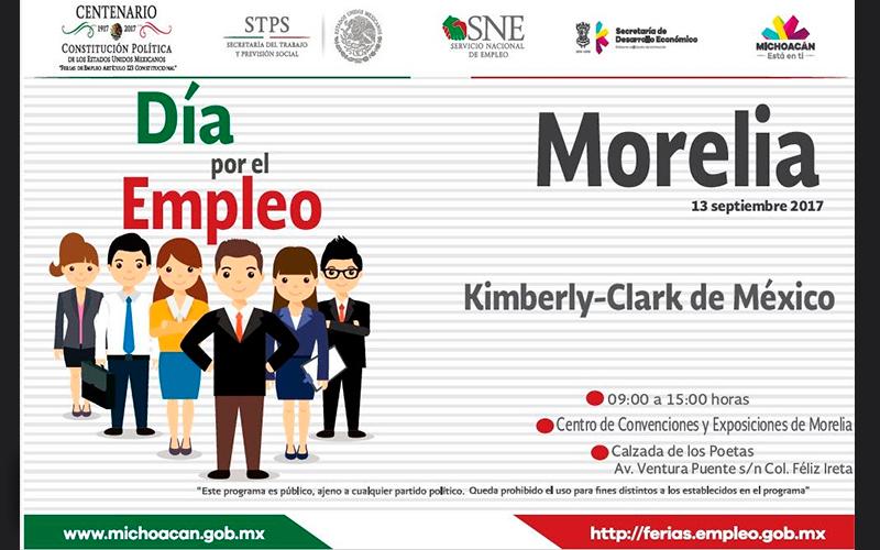 Oferta-SNE-Michoacán-122-vacantes-de-la-empresa-Kimberly-Clark