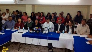 Renuncian Panistas Michoacán