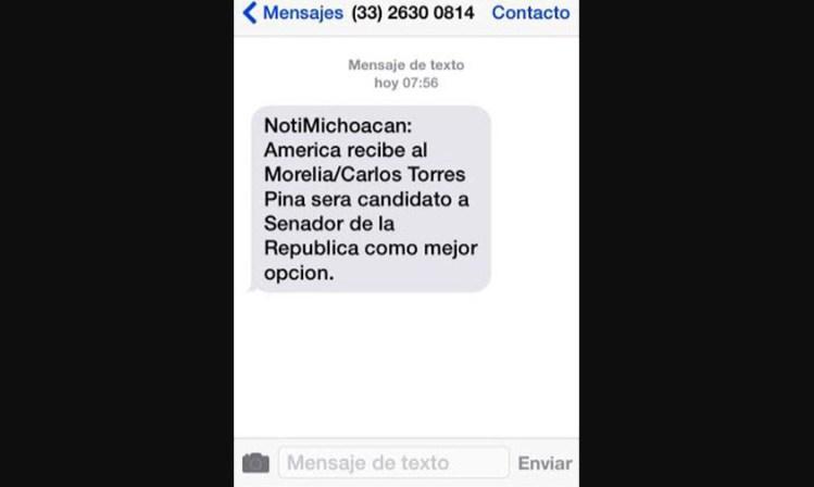 mensaje electoral Michoacán