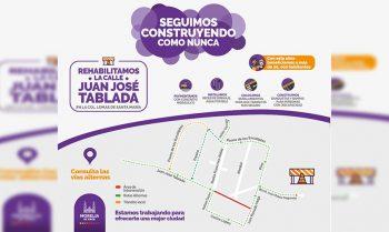 rehabilitación calle Juan José Tablada