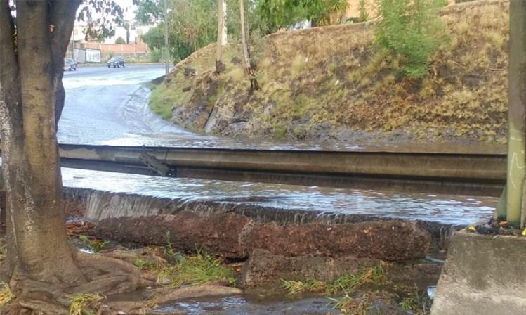 Inundación Pátzcuaro agua