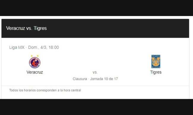 Tiburones contra Tigres futbol