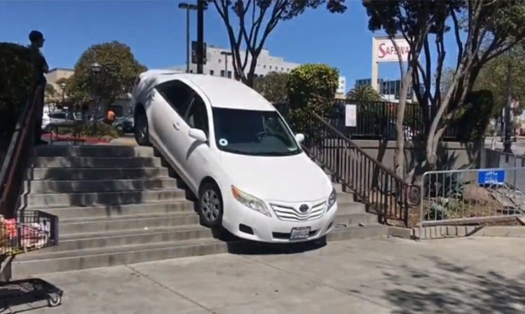 uber escaleras San Francisco