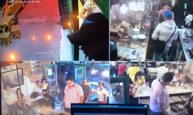 asalto cafetería