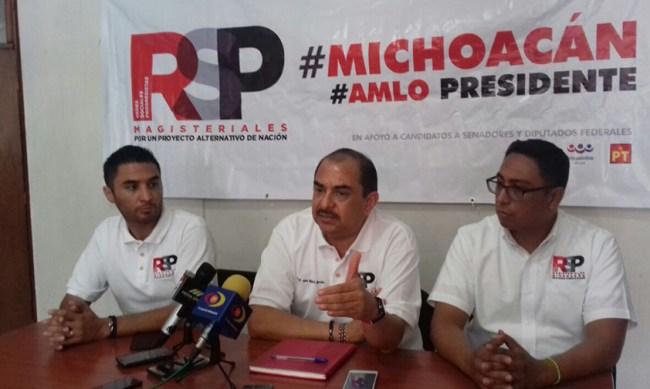 rsp Michoacán AMLO