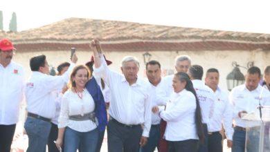 Photo of #Michoacán AMLO Celebra Estar Arriba En Las Encuestas