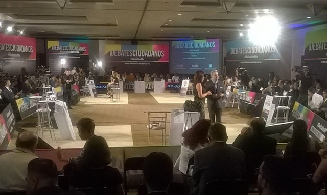 #DebateMorelia Candidatos