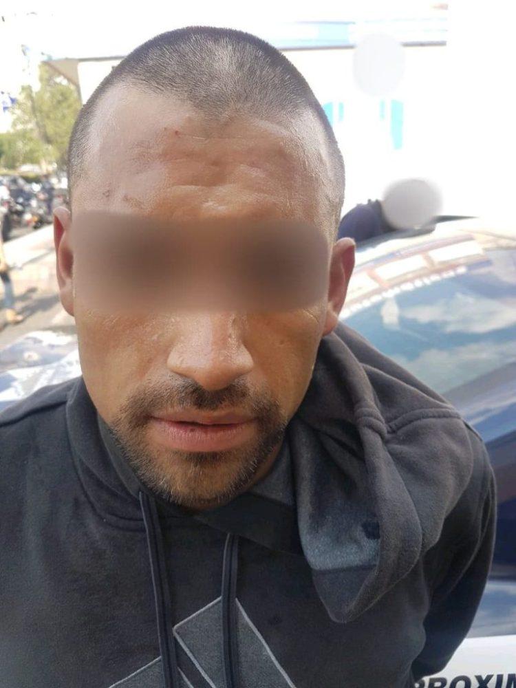 MORELIA Policías atrapan a presunto asaltante de negocio tras una persecución en Morelia (1)