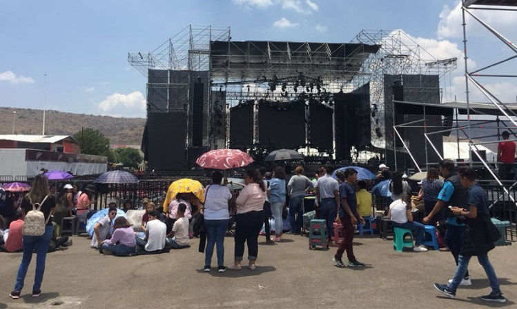 Maluma Expofiesta Michoacán 2018 escenario