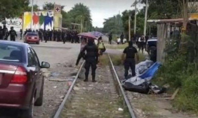 bloqueo vías tren CNTE