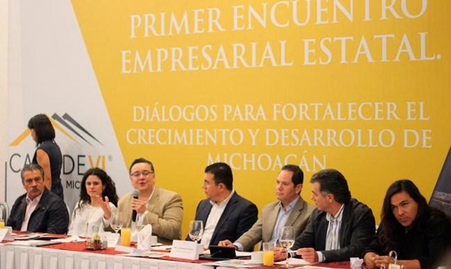 Canadevi jóvenes empresas Michoacáan