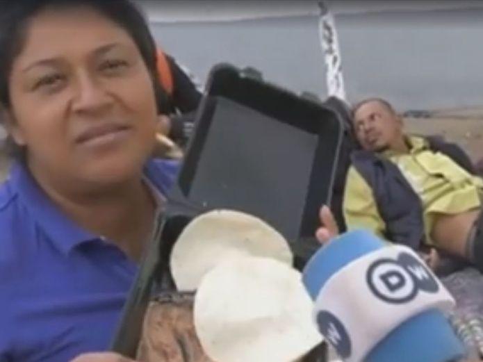 #Vídeo Migrante Se Graba Comiendo Frijoles En EU Y La Tunden En Redes