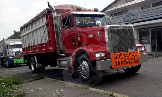 aguacateros transportistas crisis Uruapan a