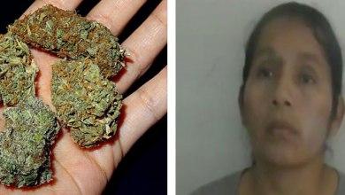 Photo of Detienen A Mujer Que Vendía Marihuana En Su Puesto De Verduras