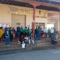 Maestros marcha Chilchota pago a