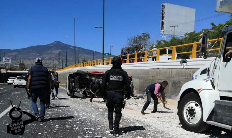 accidente muerto Morelia